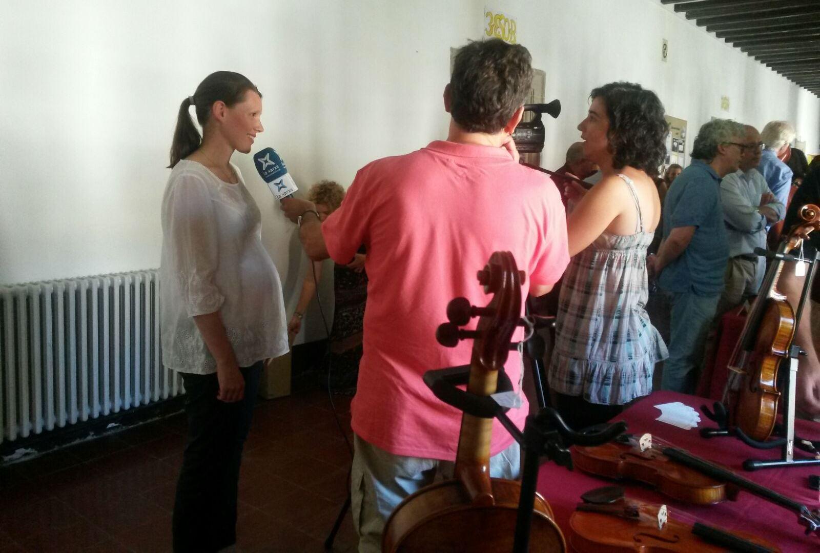 entrevista en la xarxa